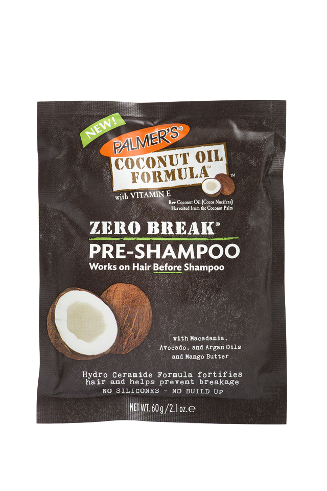 Coconut Oil Formula Zero Break Pre Shampoo