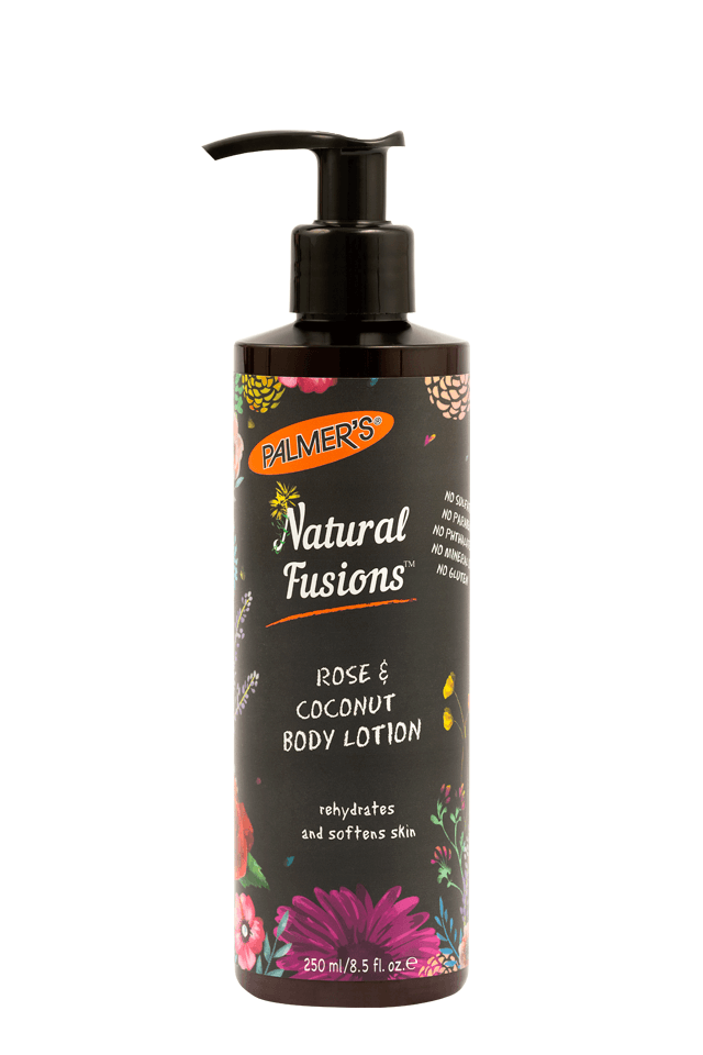 Natural Fusions Rose & Coconut Body Lotion