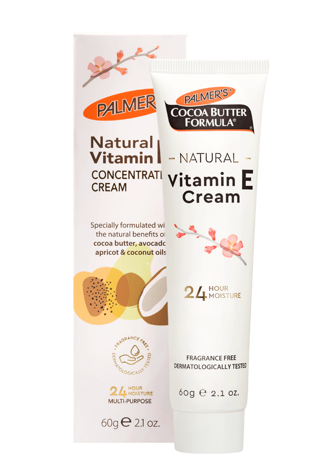 Palmer's Vitamin E Cream Box and Tube