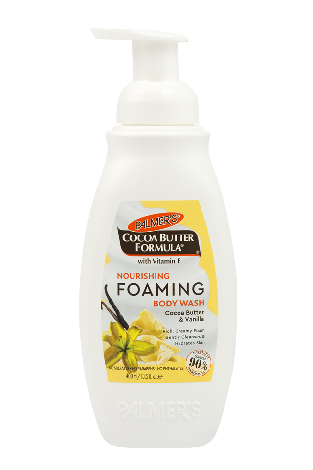 Palmer's Nourishing Foaming Body Wash 400ml