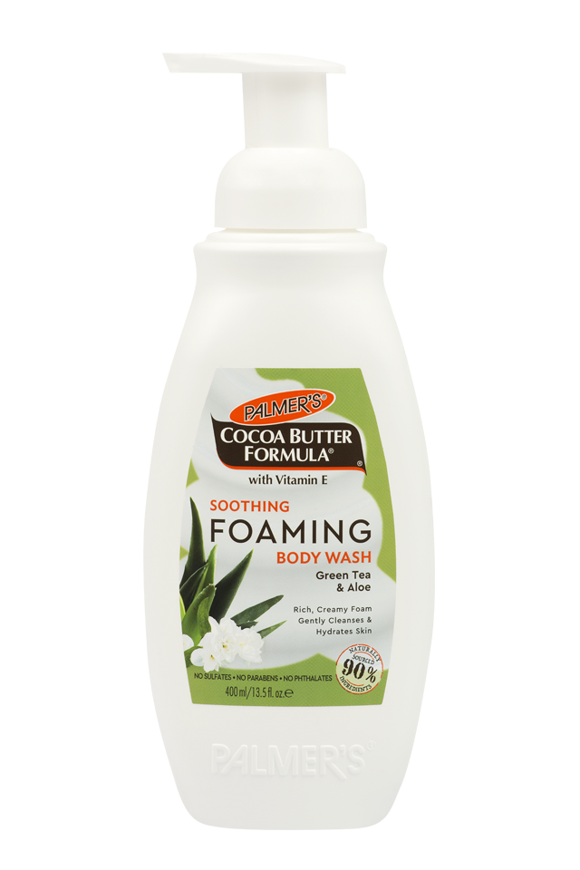 Palmer's Soothing Foaming Body Wash 400ml